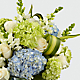 Superior Sights™ Luxury Bouquet - Blue & White - Thumbnail 3 Of 4