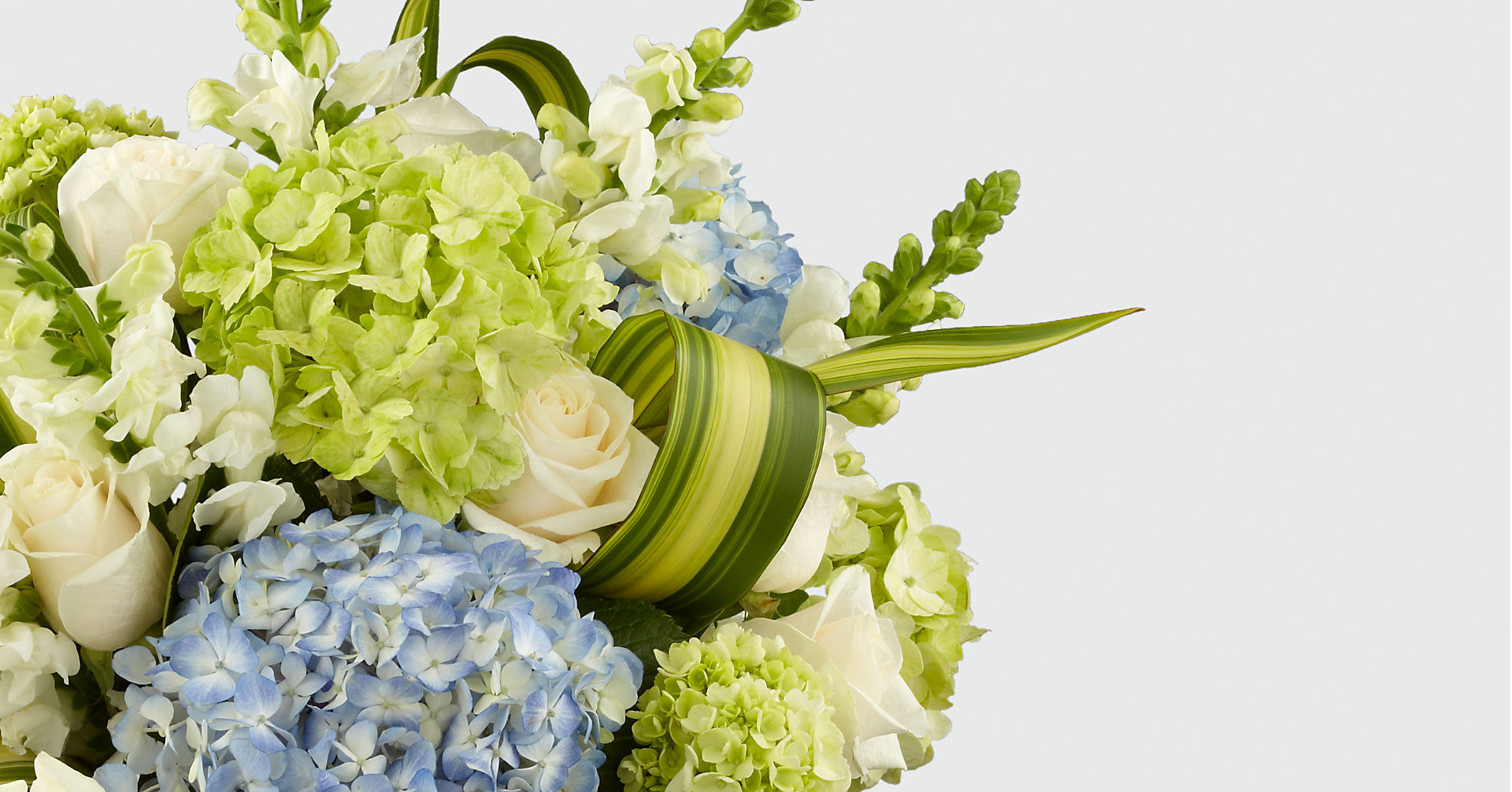 Superior Sights™ Luxury Bouquet - Blue & White - Image 3 Of 4