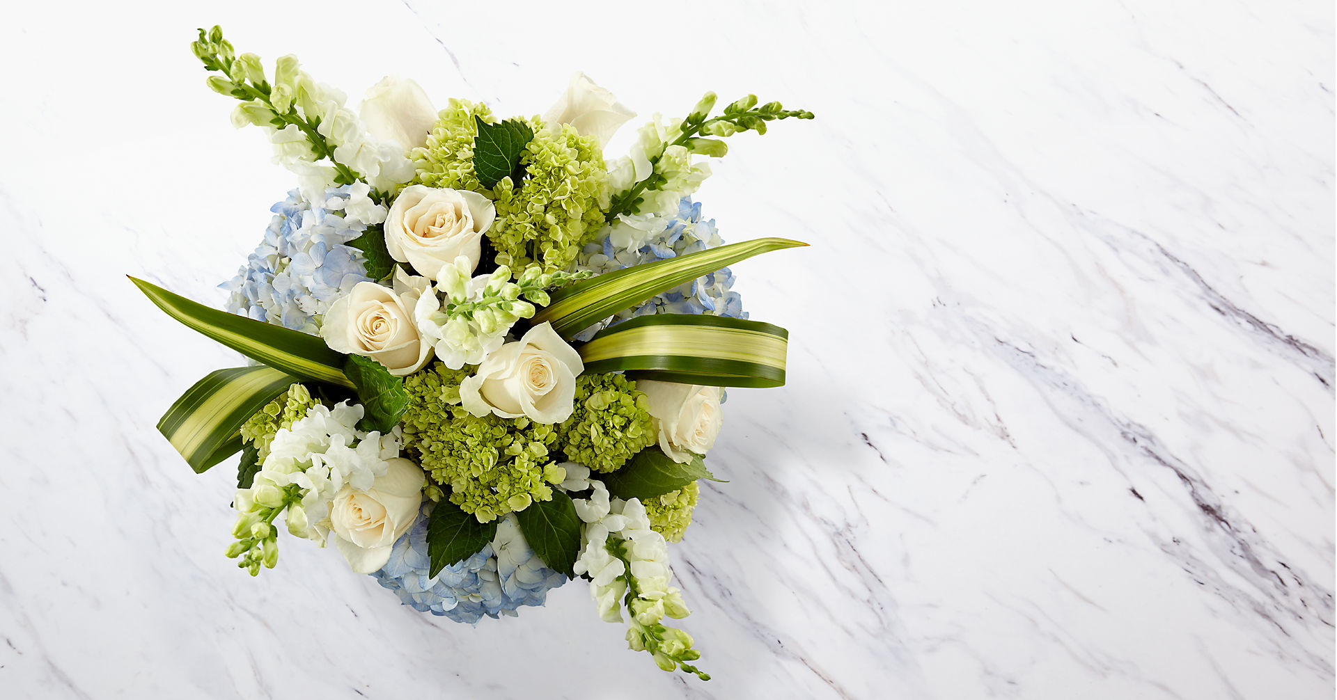 Superior Sights™ Luxury Bouquet - Blue & White - Image 2 Of 4