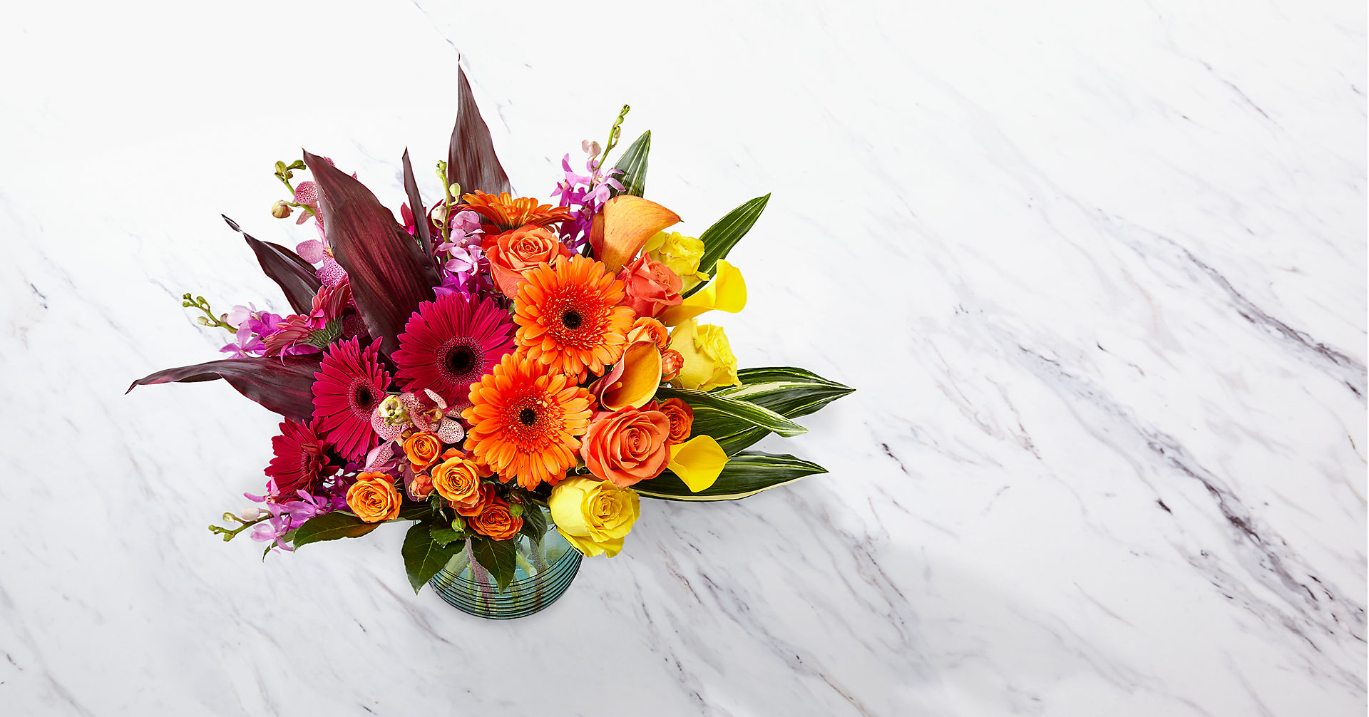 Beyond Brilliant™ Luxury Bouquet - VASE INCLUDED - Image 2 Of 2