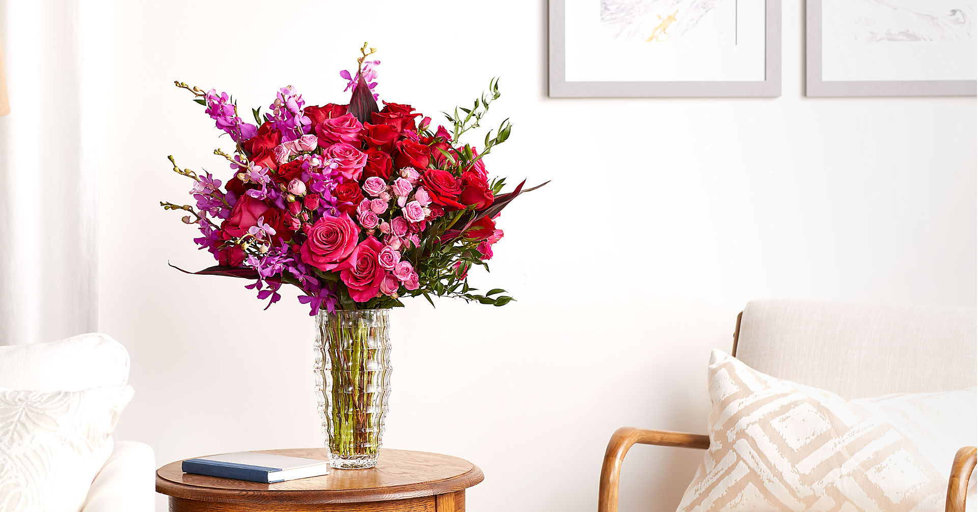 Heart's Wishes™ Luxury Bouquet - VASE INCLUDED - Image 5 Of 5
