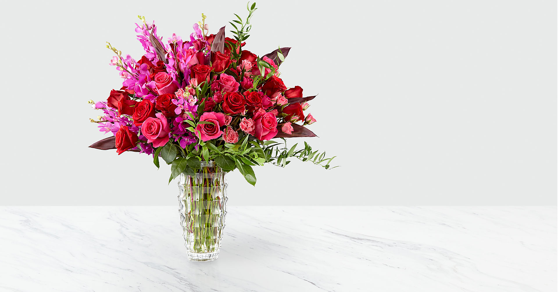 Heart's Wishes™ Luxury Bouquet - VASE INCLUDED - Image 1 Of 5