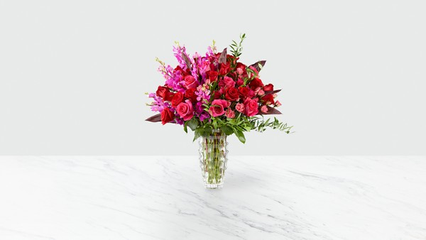 Heart's Wishes™ Luxury Bouquet - VASE INCLUDED - Thumbnail 1 Of 4