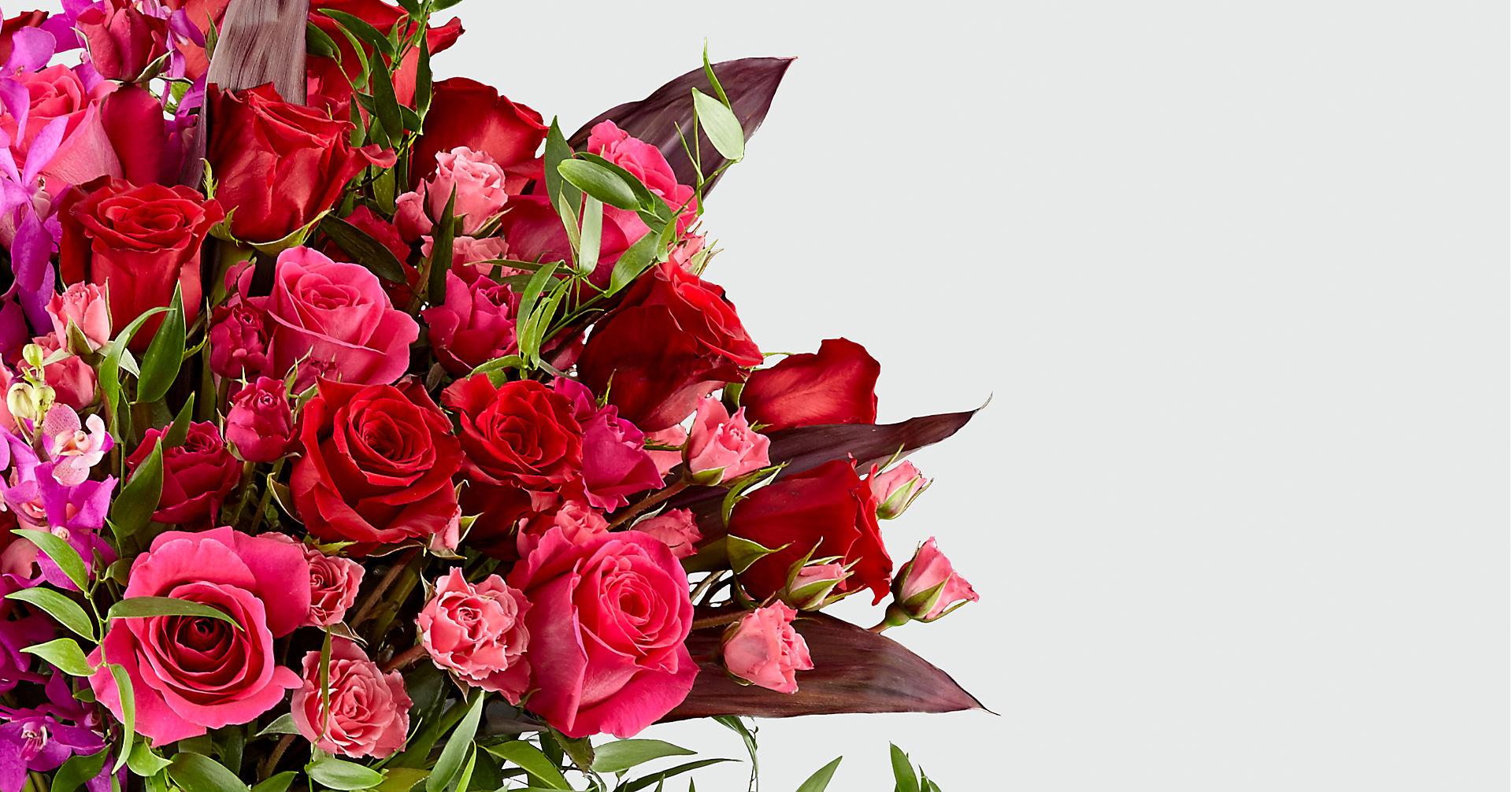 Heart's Wishes™ Luxury Bouquet - VASE INCLUDED - Image 3 Of 5