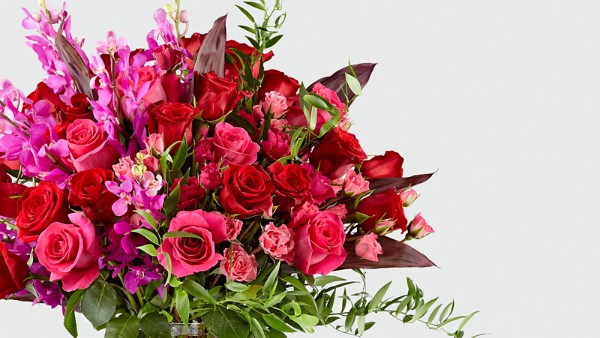 Heart's Wishes™ Luxury Bouquet - VASE INCLUDED - Thumbnail 3 Of 4