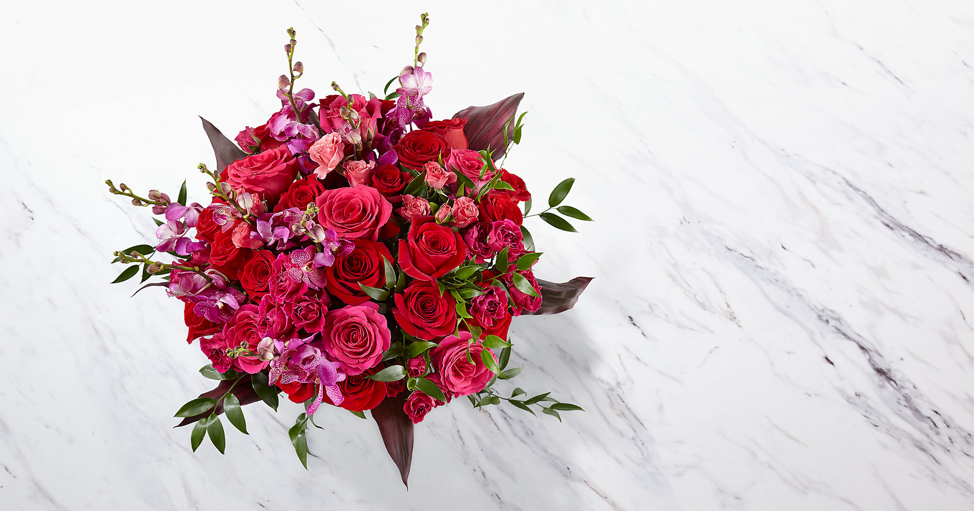 Heart's Wishes™ Luxury Bouquet - VASE INCLUDED - Image 2 Of 5