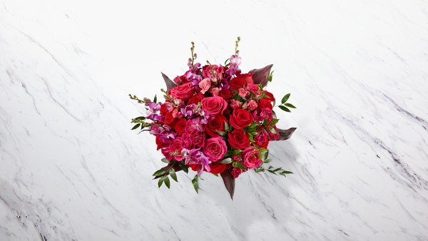 Heart's Wishes™ Luxury Bouquet - VASE INCLUDED - Thumbnail 2 Of 4