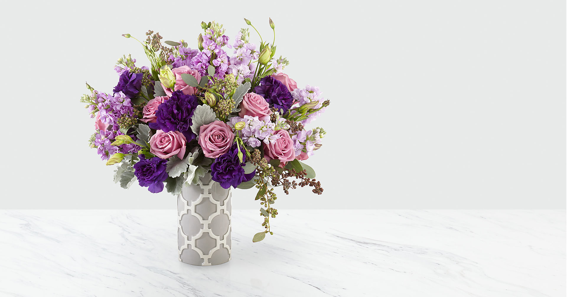 Mademoiselle™ Luxury Bouquet - Deluxe - Image 1 Of 4