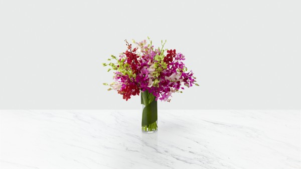 Luminous Luxury Orchid Bouquet - Thumbnail 1 Of 3