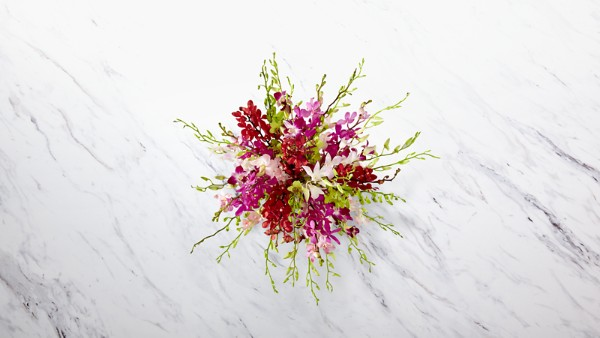 Luminous Luxury Orchid Bouquet - Thumbnail 2 Of 3