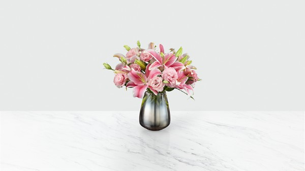 The FTD® Pink Magnifique Luxury Bouquet - Image 2 Of 3