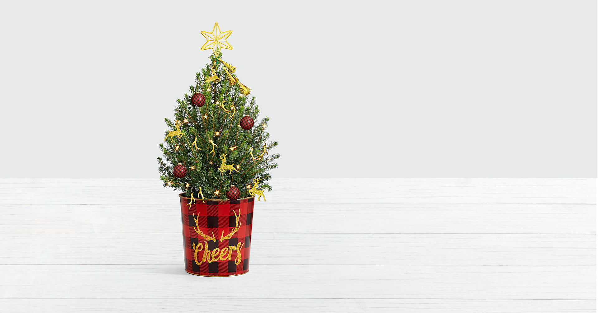 Holiday Glam Spruce Tree