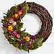 Garden Strawflower Wreath - Thumbnail 1 Of 2