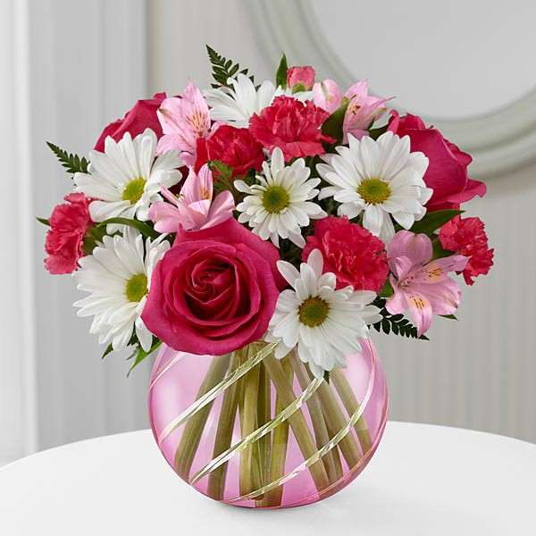 Perfect Blooms™ Bouquet - VASE INCLUDED - Image 1 Of 2