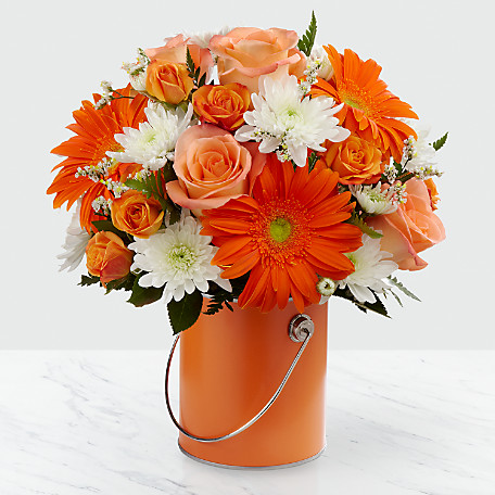 The Color Your Day With Laughter Bouquet