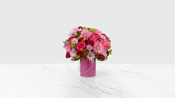 The Color Your Day With Happiness™ Bouquet - VASE INCLUDED