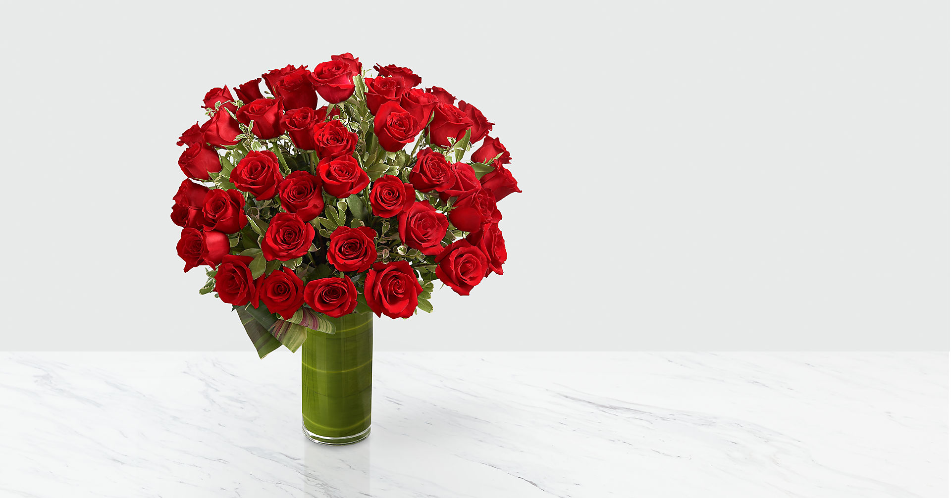 Fate Luxury Rose Bouquet - 48 Stems of 24-inch Premium Long-Stemmed Roses - Image 1 Of 5