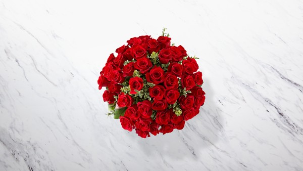 Fate Luxury Rose Bouquet - 48 Stems of 24-inch Premium Long-Stemmed Roses - Image 2 Of 3