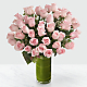 Delighted Luxury Rose Bouquet - 24-inch Premium Long-Stemmed Roses - Thumbnail 1 Of 3