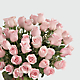 Delighted Luxury Rose Bouquet - 24-inch Premium Long-Stemmed Roses - Thumbnail 3 Of 3