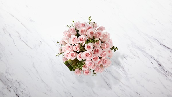 Delighted Luxury Rose Bouquet - 24-inch Premium Long-Stemmed Roses - Image 2 Of 3