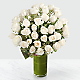 Clarity Luxury Rose Bouquet - 24-inch Premium Long-Stemmed Roses - Thumbnail 1 Of 4