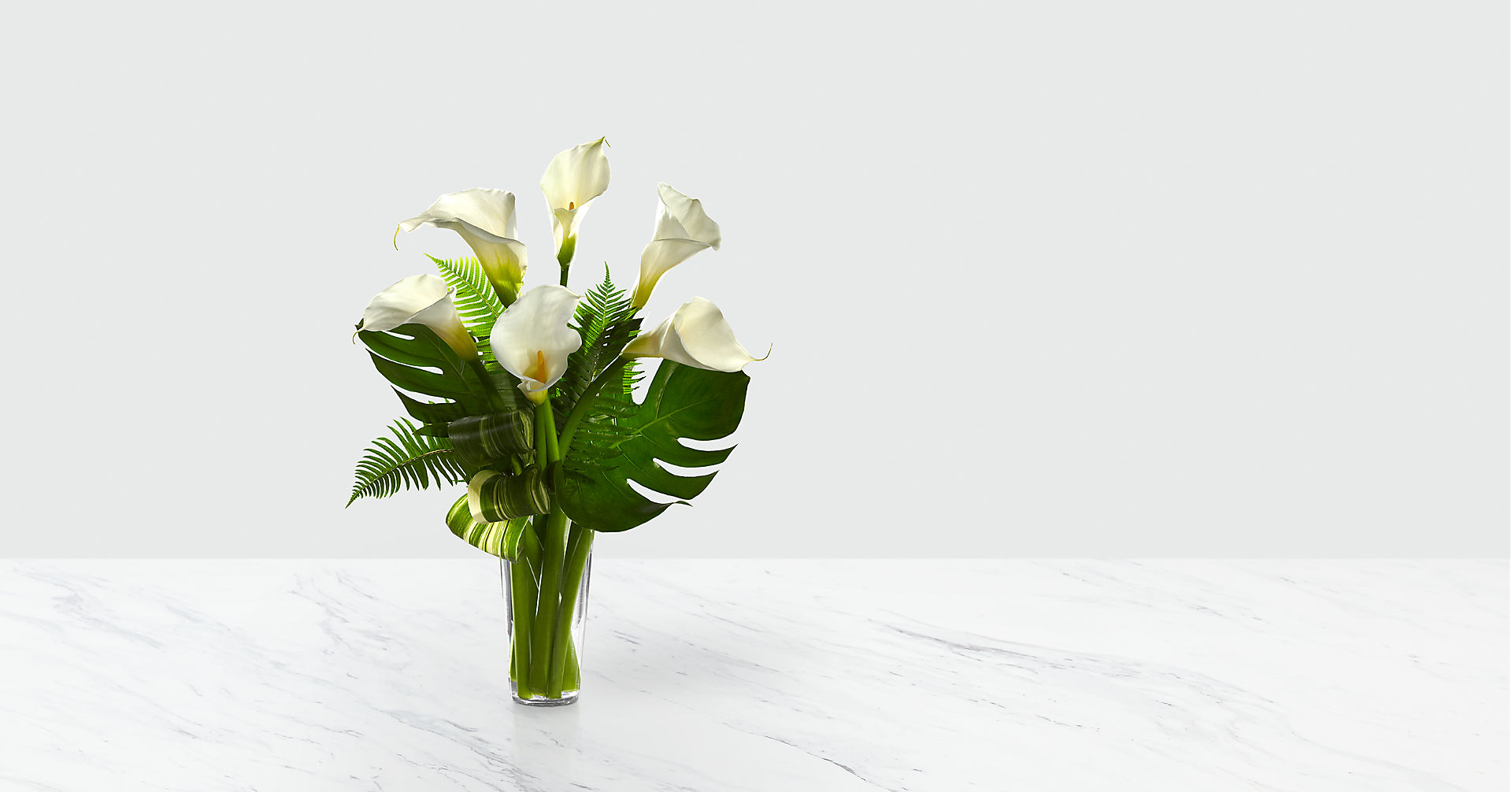 Always Adored™ Calla Lily Bouquet - VASE INCLUDED