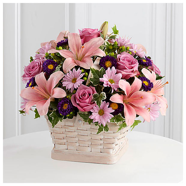 Loving Sympathy™ Basket- BASKET INCLUDED