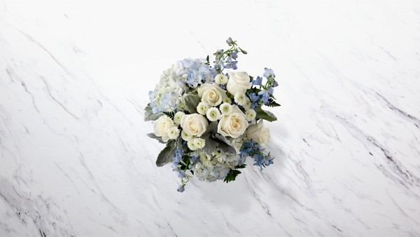 Faithful Guardian™ Bouquet - Blue & White - Image 2 Of 2