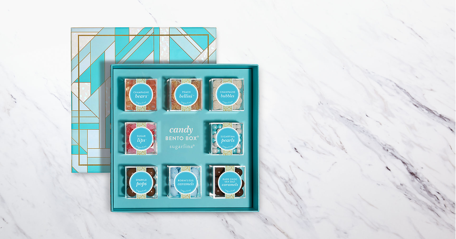 Sugarfina® Faves 8pc Bento Box - Image 1 Of 3