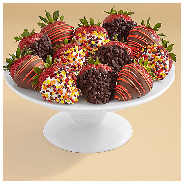 Gourmet Dipped Autumn Strawberries