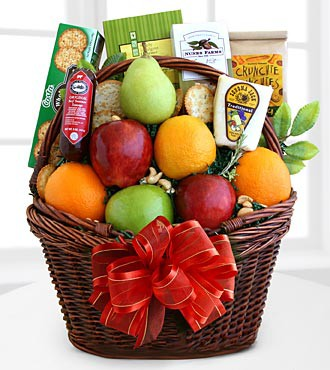 Comforting Kindness Fruit Basket