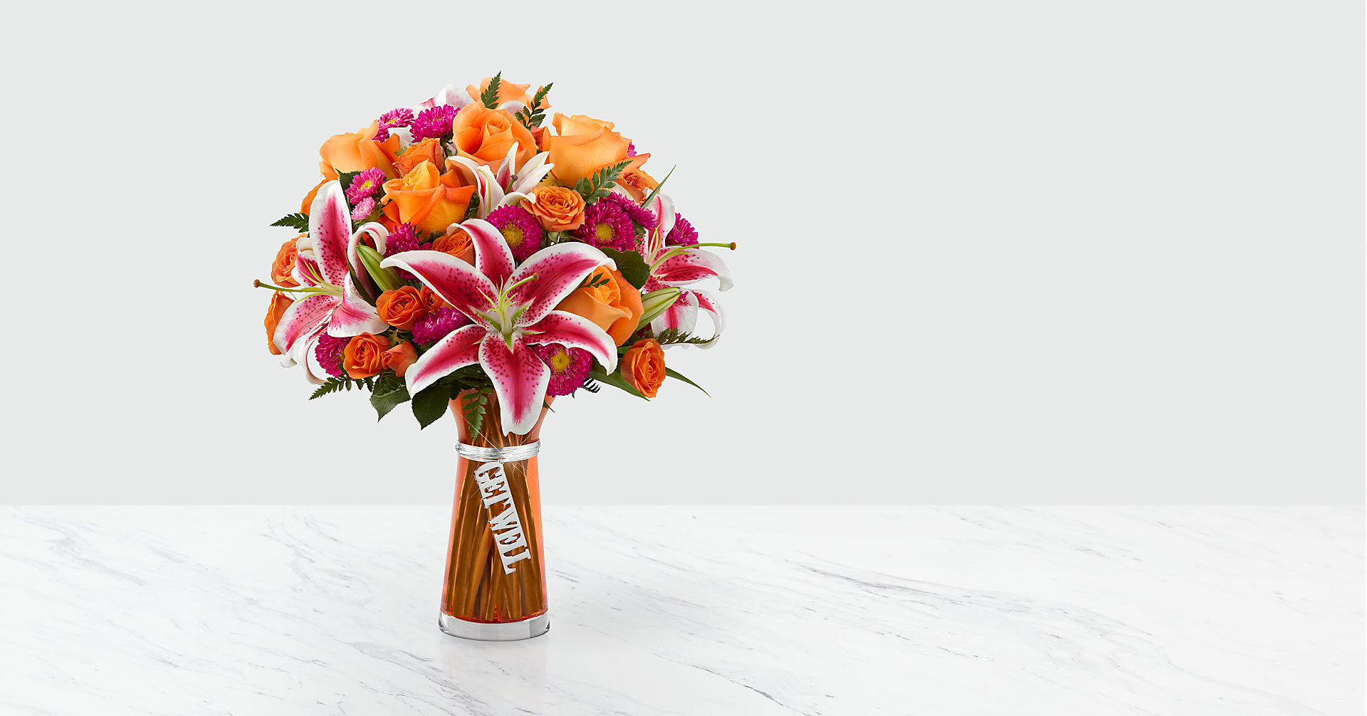 Get Well Bouquet- VASE INCLUDED