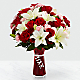 Expressions of Love Bouquet - VASE INCLUDED - Thumbnail 1 Of 2