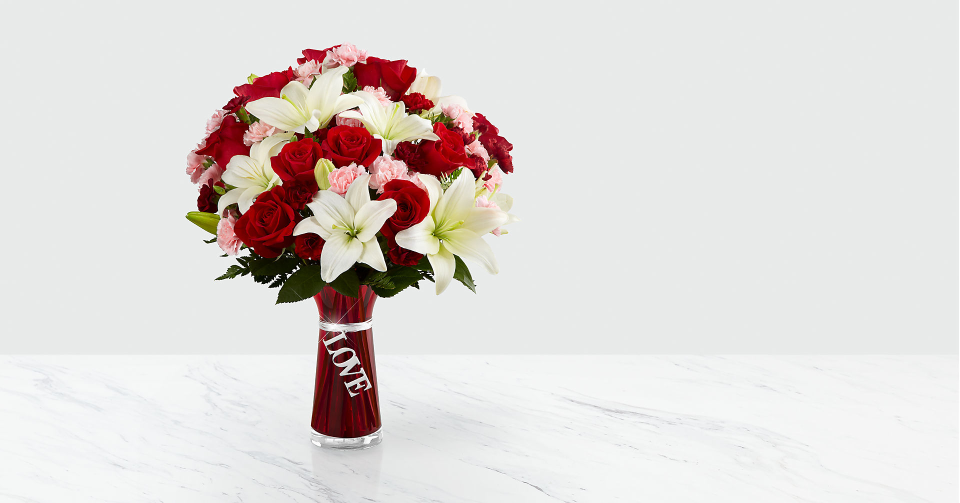 Expressions of Love Bouquet - VASE INCLUDED - Image 1 Of 2