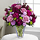 The Timeless Traditions™ Bouquet - CUT GLASS VASE INCLUDED - Thumbnail 1 Of 2