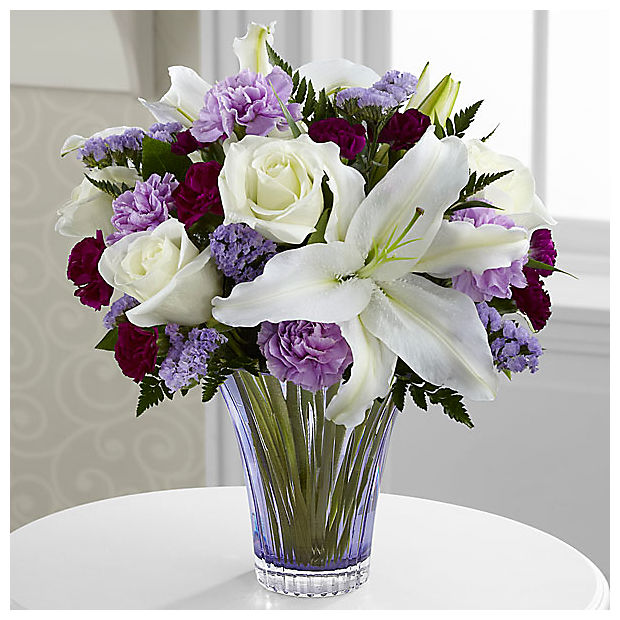 The Thinking of You™ Bouquet - CUT GLASS VASE INCLUDED - Image 1 Of 2