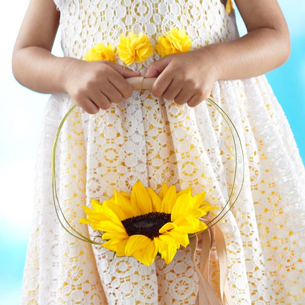 Sweet Sunshine™ Flower Girl Bouquet
