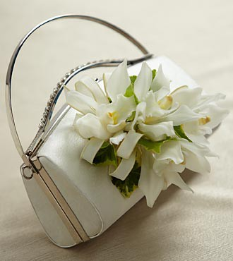 White Purse Décor