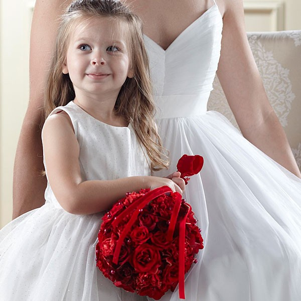 Pure at Heart™ Flower Girl Arrangement