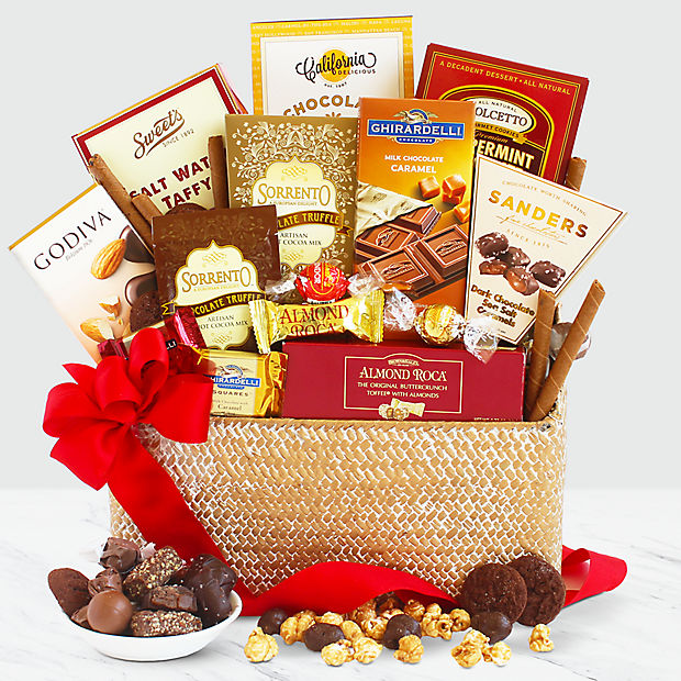 Extra Chocolate Indulgence Basket
