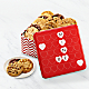 Mrs. Fields® Be Mine Valentine Cookie Tin - Thumbnail 1 Of 3