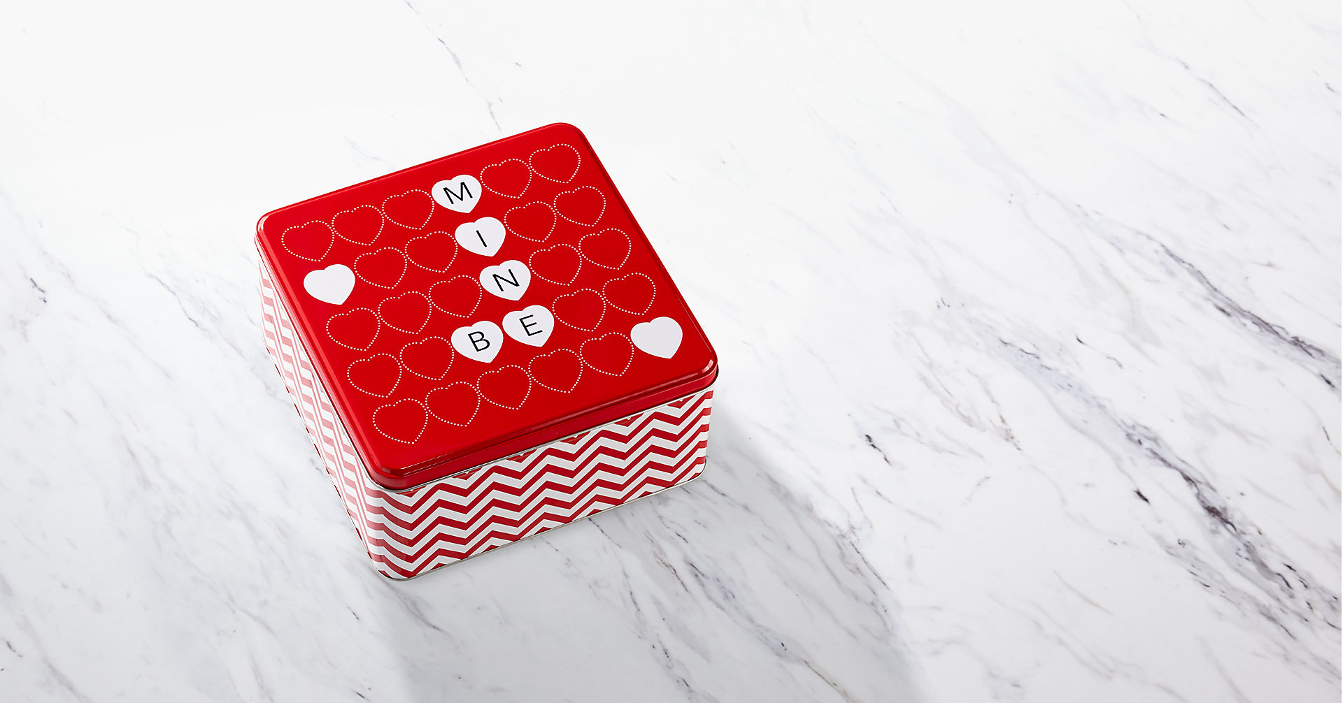 Mrs. Fields® Be Mine Valentine Cookie Tin - Image 2 Of 3