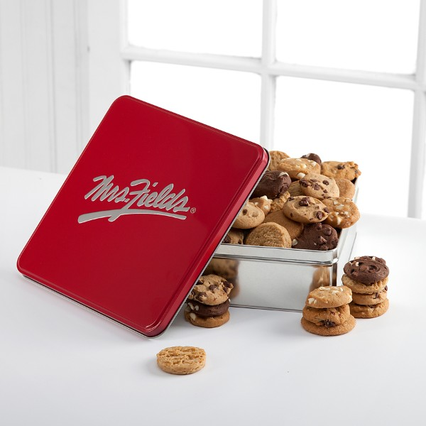 Mrs. Fields® Classic Tin with 60 Assorted Nibblers®