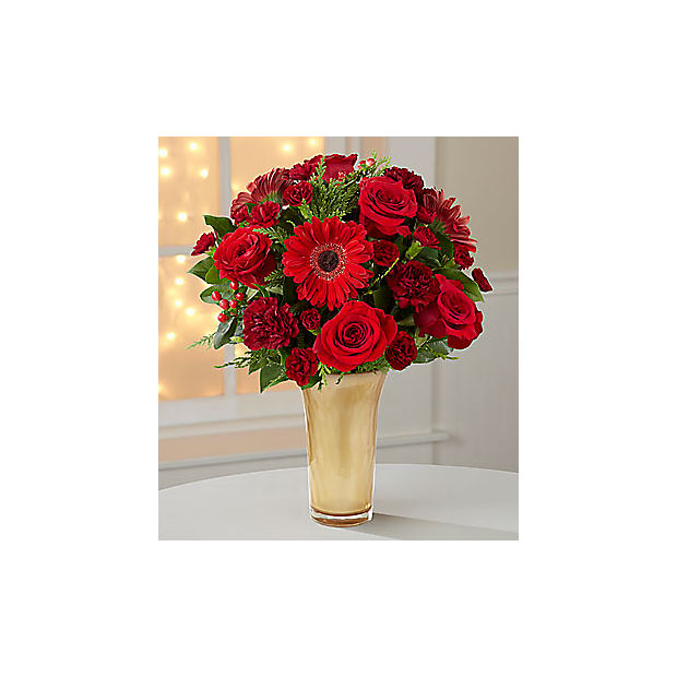 Ruby Riches Holiday Bouquet