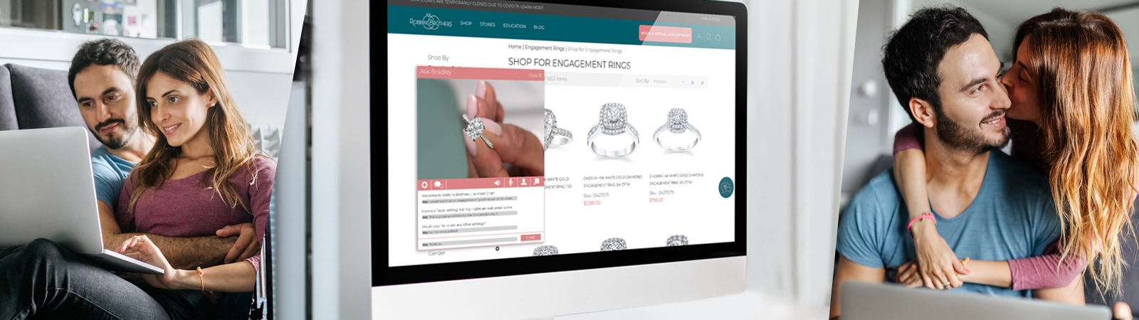 Virtual appointment for Ring And Diamond