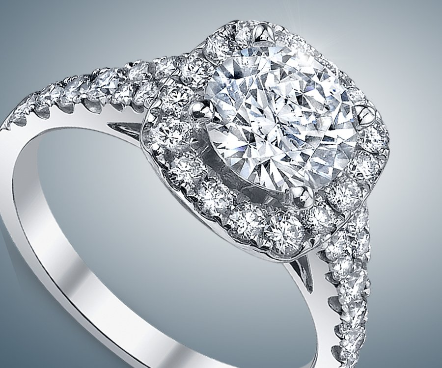 Engagement Ring And Diamond