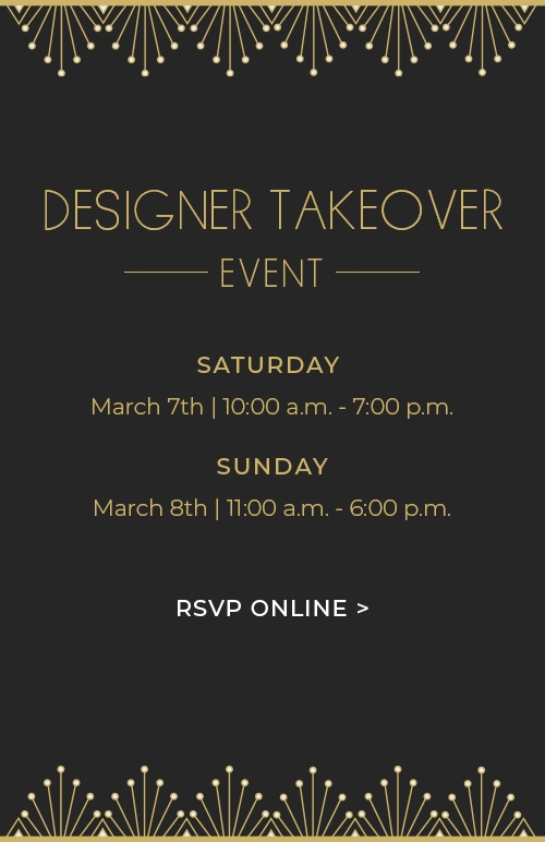 Designer Takeover Event In Dallas
