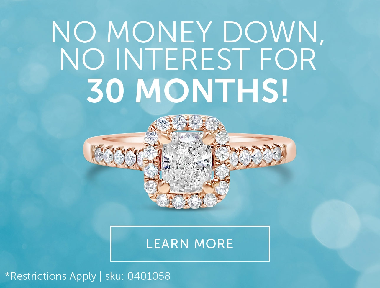 Special 30 Month Fianancing