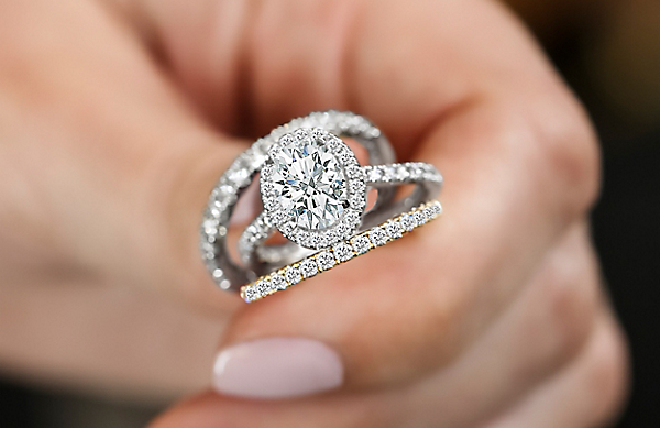 Woman Engagement Ring